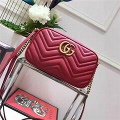 Gucci New GG Marmont Matelasse Leather Shoulder Bag Original Box (Hot Product - 2*)