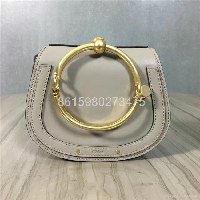 2017 New Chloe Nile Bracelet small leather shoulder bag Women small handbags 3