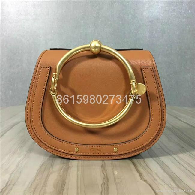 2017 New Chloe Nile Bracelet small leather shoulder bag Women small handbags 6