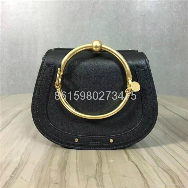 2017 New Chloe Nile Bracelet small leather shoulder bag Women small handbags 1