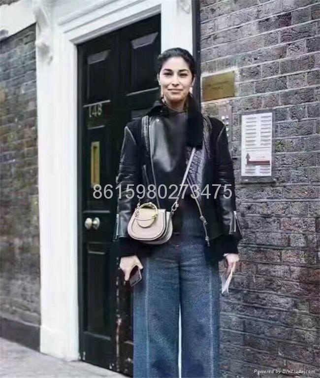 2017 New Chloe Nile Bracelet small leather shoulder bag Women small handbags 14