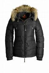 Hot! Parajumpers Alaska High Fill Down duvet Ski Jacket Coat Raccoon Fur Women