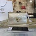 New! Versace Crystal metal Shoulder Bag