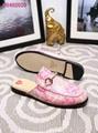Gucci Slides Gucci Men women Leather Slipper FUR SLIPPER MULE LOAFER SHOES 7