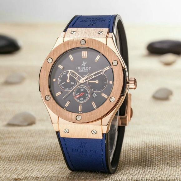 Hublot Watches Big Bang Steel Black 1:1 Hublot Men's Watches Wall Clock Quartz 2