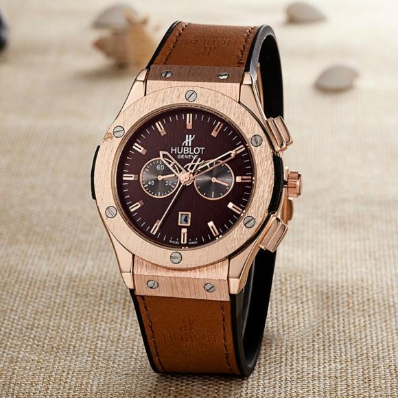 Hublot Watches Big Bang Steel Black 1:1 Hublot Men's Watches Wall Clock Quartz 3