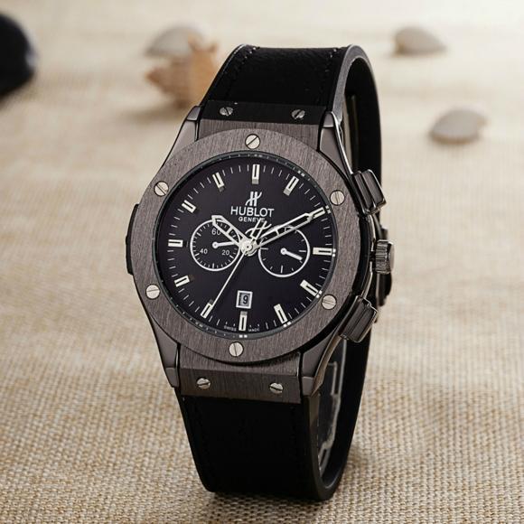 Hublot Watches Big Bang Steel Black 1:1 Hublot Men's Watches Wall Clock Quartz 4