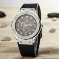 Hublot Watches Big Bang Steel Black 1:1 Hublot Men's Watches Wall Clock Quartz 9