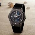 Hublot Watches Big Bang Steel Black 1:1 Hublot Men's Watches Wall Clock Quartz 11
