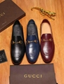 Wholesale Gucci Jordaan Black Bit Loafers Men's Ultrasoft Leather Slipper Shoes
