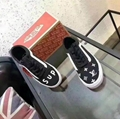 Wholesale Supreme x Louis Vuitton Vans Casual Lace Up shoes Women sneaker shoes