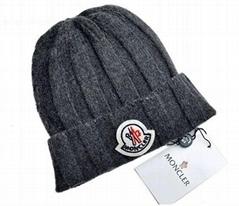 Wholesale Moncler Cable Knit Skull Cap Men Wool Winter Cap hats Cheap Women caps
