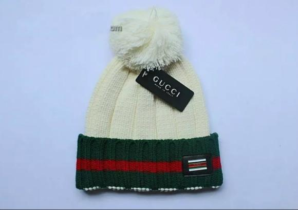 Wholesale Gucci Caps Hats MEN AND WOMEN'S GUCCI HATS KNITTED HATS 2