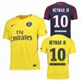 2017-18Nike Soccer Jersey PSG NEYMAR JR SOCCER AWAY HOME SHIRT JERSEY 1