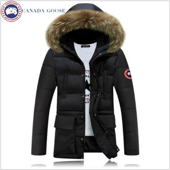 Canada goose mens down coat