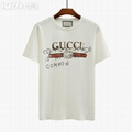 Gucci SUPREME MEN T-SHIRTS PRINTED GC tee OFF WHITE champion (Hot Product - 4*)
