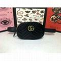 Gucci BAG VELVET MESSENGER BAG WAIST BELT BAG PURSE SHOULDER BAGS