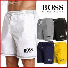 Wholesale Boss Men's boardshorts swim trunks shorts beach pants