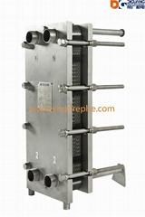 V28 Marine Engine Plate Heat Exchanger