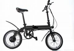 "16"" Pedal Assist Electric Folding Bike"