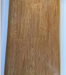 8mm high gloosy laminate flooring HDF AC4