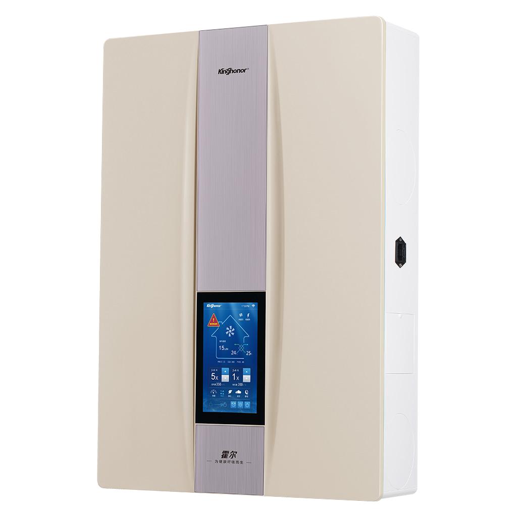 Hiair503 壁挂式智能新風系統 霍爾新風機家用 新風系統空氣淨化 1