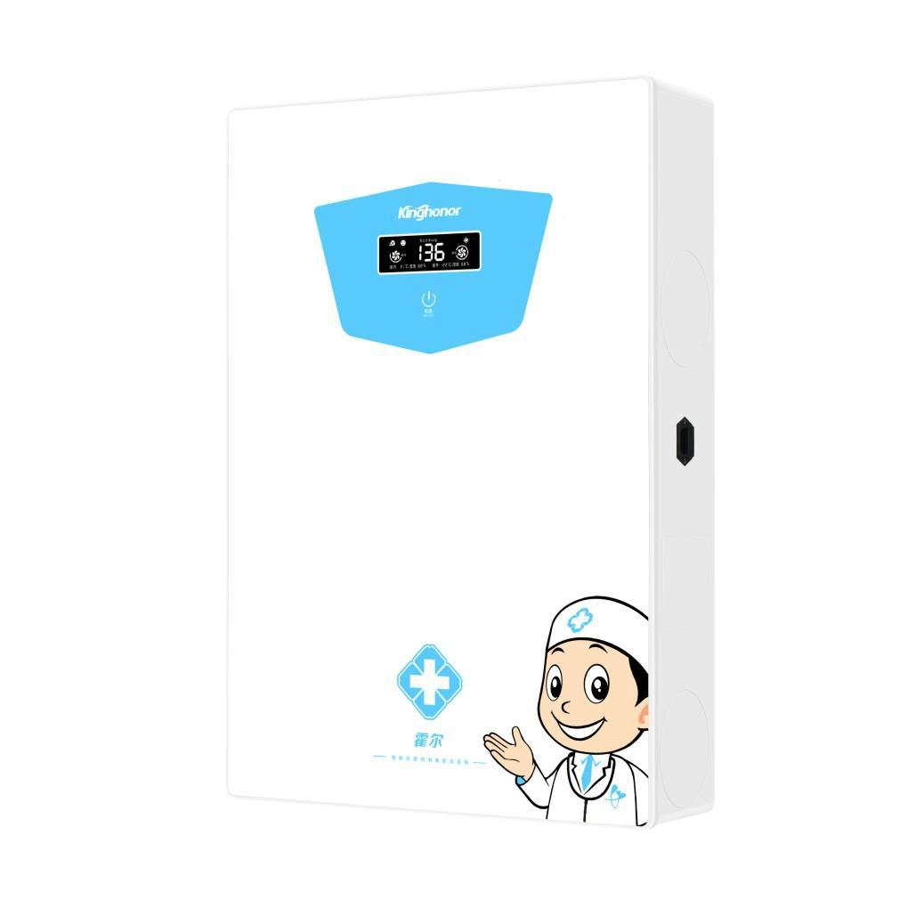 霍爾E301壁挂式醫用型紫外線消毒新風系統 1