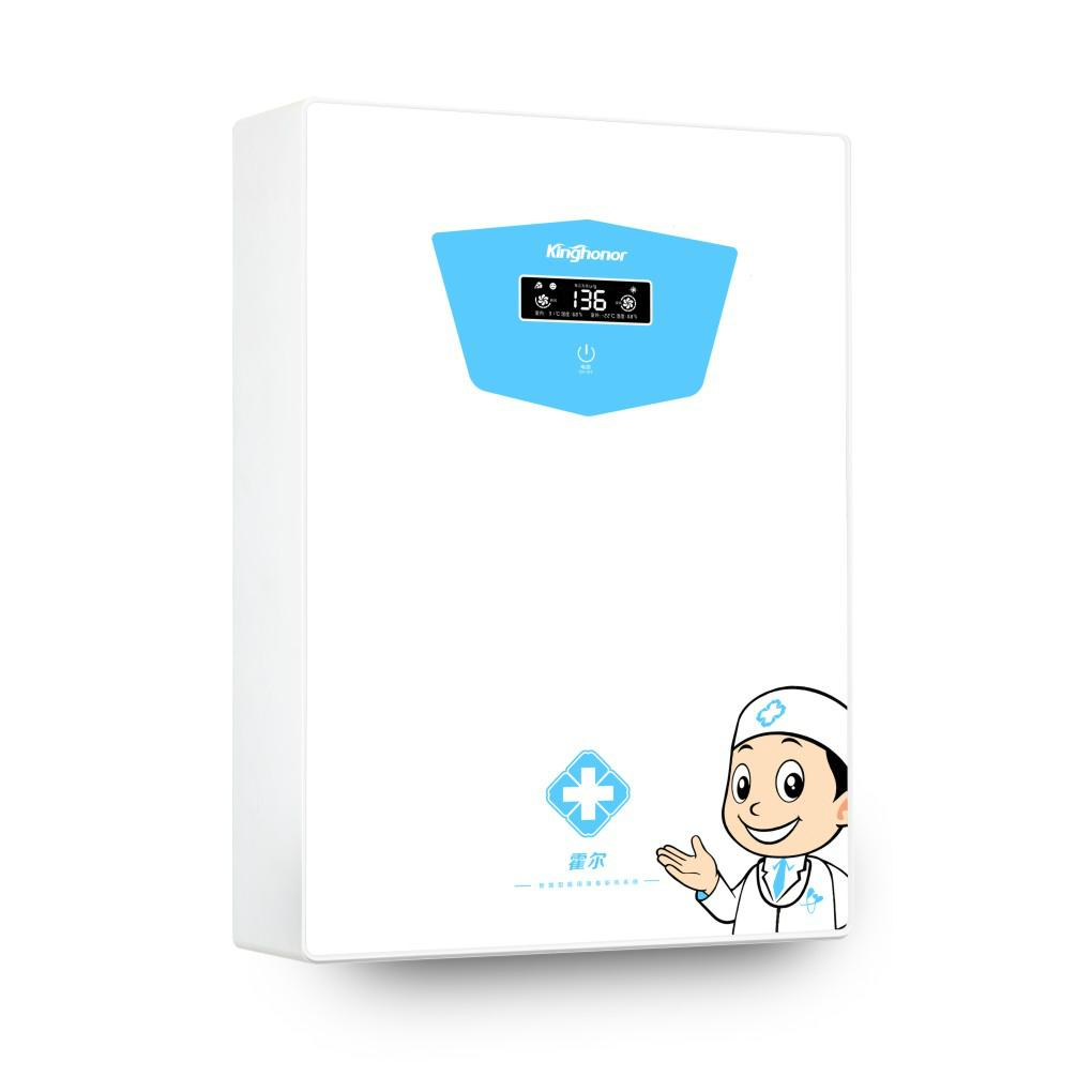 霍爾E301壁挂式醫用型紫外線消毒新風系統 2
