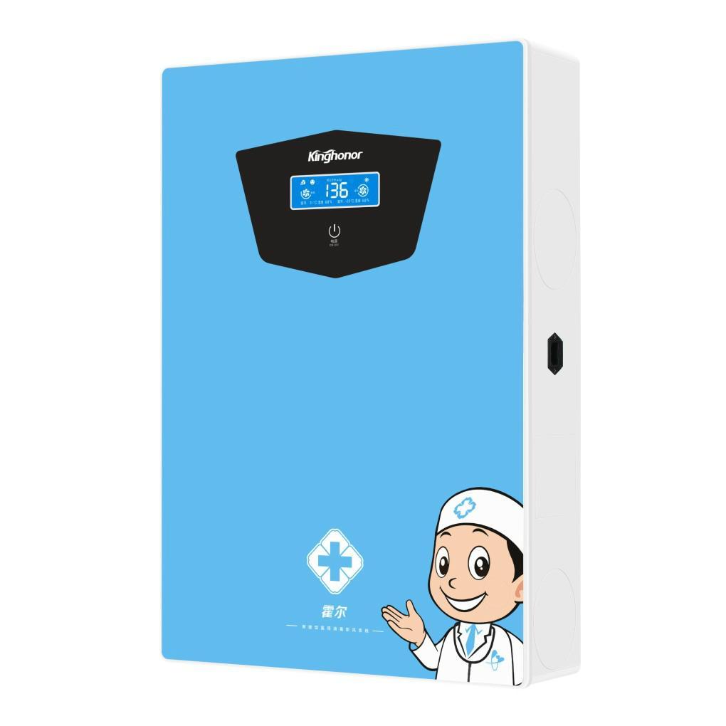 霍爾E301壁挂式醫用型紫外線消毒新風系統 5