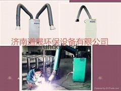 廠家直銷工業移動式新型單臂煙塵淨化器