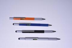 六合一多功能工具電容筆