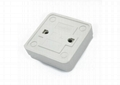 European Design Plastic Door Exit Push Button Switch Surface Mounted 2