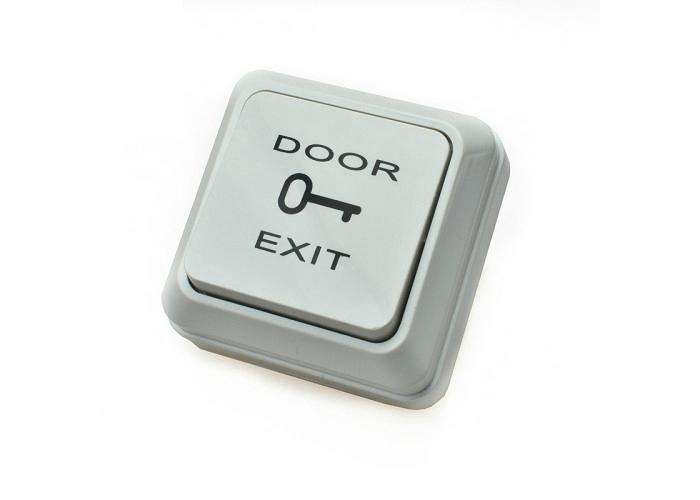 European Design Plastic Door Exit Push Button Switch Surface Mounted 1