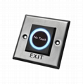 Waterproof Square touchless Exit Button