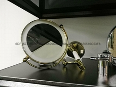 高檔酒店專用壁挂式美容鏡