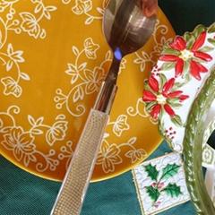 圣诞元旦不锈钢餐具 刀叉勺