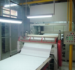 two step impregnation line for decor paper on furniture board
