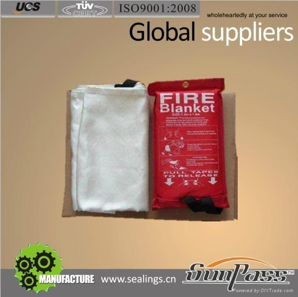 Well Handle Fiberglass Cloth Insulation Fire Fiberglass Blanket 1