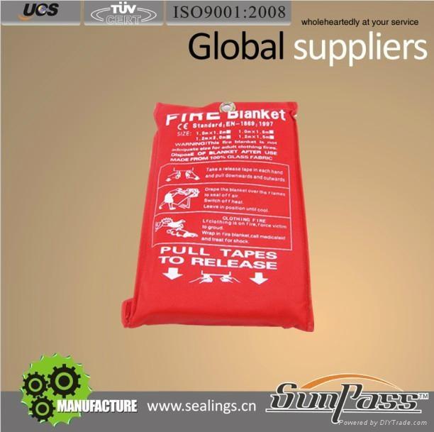 Well Handle Fiberglass Cloth Insulation Fire Fiberglass Blanket 2