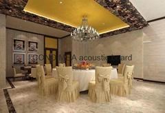 Condimea aluminium & PU foam acoustic board for residential decoration