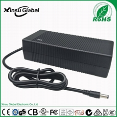 46.2V 2A 3A lithium ion battery charger with SAA UL GS certificates for golf car
