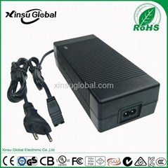 smart lithium battery charger 16.8v 4A 5A 6A for 14.8v battery pack