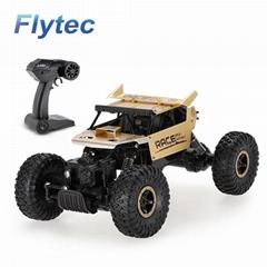 Flytec 9118 1/18 Alloy Body Shell Crawler High Speed RC B   y Car 4WD