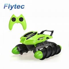 Flytec 989-393 2.4G Amphibious Stunt Waterproof High Speed Rc Tank