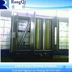 Vertical Industrial Low-E Glass Washing Machine