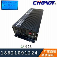 黑龍江供應高品質純正波LCD顯示2000W大功率逆變器可帶空調冰箱