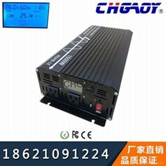 合肥安庆厂家直销大功率纯正弦波12V/1500W家用逆变器车载电源