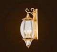 Outdoor Wall Sconce Lamp