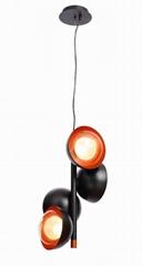 后現代雙層玻璃球吊燈 FD-8016-04