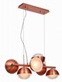 時尚創意雙層玻璃球吊燈 FD-